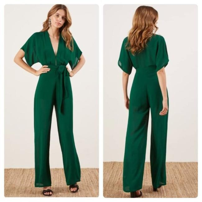 Item - Green Lemongrass Emerald Romper/Jumpsuit
