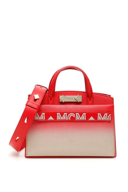 Item - Bag Cr New Milano Mini Red Leather Tote