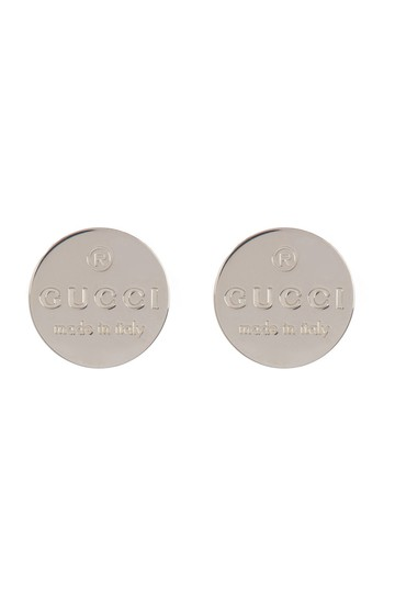 Preload https://img-static.tradesy.com/item/27585016/gucci-silver-round-trademark-stud-earrings-0-0-540-540.jpg