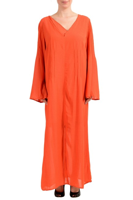 Preload https://img-static.tradesy.com/item/27585040/orange-women-s-two-layer-long-casual-maxi-dress-size-12-l-0-0-650-650.jpg