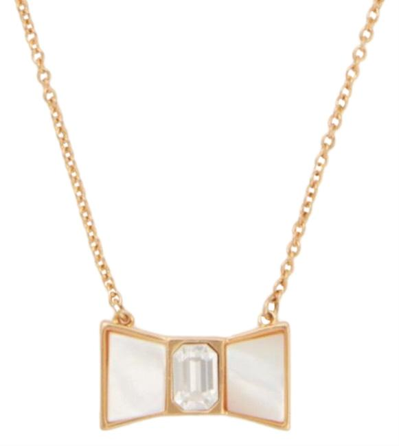 Kate Spade Bow Mini Pendant Necklace Kate Spade Bow Mini Pendant Necklace Image 1