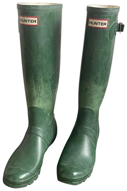 Item - Green 123 Boots/Booties Size US 8 Regular (M, B)