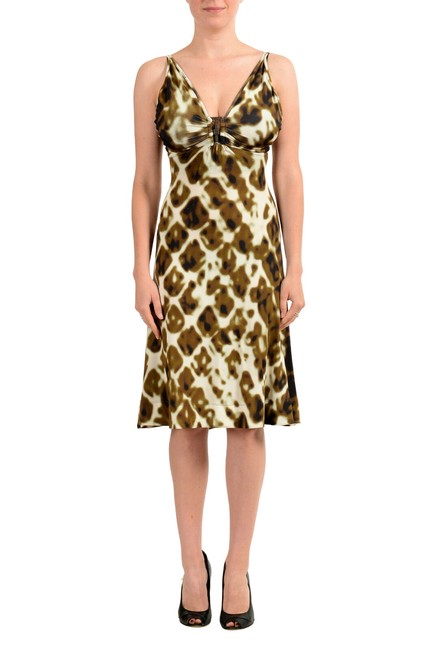Preload https://img-static.tradesy.com/item/27585084/just-cavalli-multi-color-women-s-stretch-flare-mid-length-short-casual-dress-size-2-xs-0-0-650-650.jpg