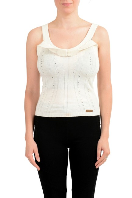 Preload https://img-static.tradesy.com/item/27585254/dolce-and-gabbana-ivory-d-and-g-women-s-knitted-tank-topcami-size-4-s-0-0-650-650.jpg