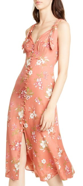 Preload https://img-static.tradesy.com/item/27585309/rebecca-taylor-coral-peach-sunset-lita-floral-silk-twill-bow-midi-mid-length-cocktail-dress-size-4-s-0-0-650-650.jpg