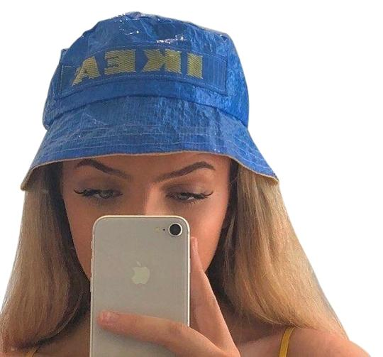 Preload https://img-static.tradesy.com/item/27585333/blue-bucket-limited-edition-cute-festival-season-summer-hat-0-1-540-540.jpg