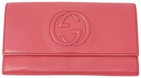 Preload https://img-static.tradesy.com/item/27585586/gucci-red-bifold-leather-gg-wallet-0-1-540-540.jpg