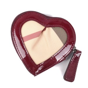 Burberry Burberry Women's Patent Leather Coin Purse/coin Case Beige,Black,Red Color,White