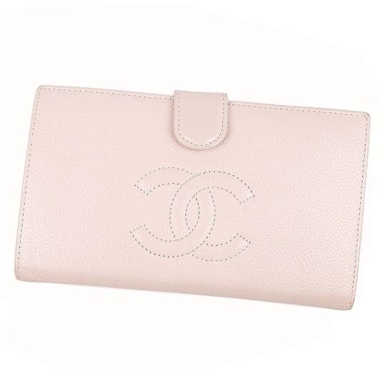 Preload https://img-static.tradesy.com/item/27585766/chanel-pink-long-coco-mark-caviar-skin-pouch-2-fold-leather-ladies-wallet-0-0-540-540.jpg