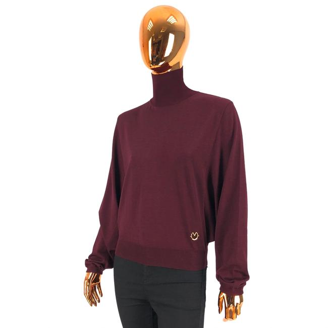 Preload https://img-static.tradesy.com/item/27585873/louis-vuitton-w-logo-burgundy-sweater-0-0-650-650.jpg