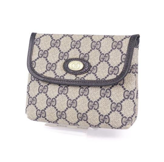 Preload https://img-static.tradesy.com/item/27585969/gucci-cosmetic-pouch-old-gg-pattern-interlocking-accessory-ladies-vintage-gray-navy-pvc-leather-clut-0-0-540-540.jpg