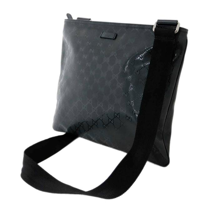 Item - Imple 201446 Black / White Gg Imprimé Messenger Bag