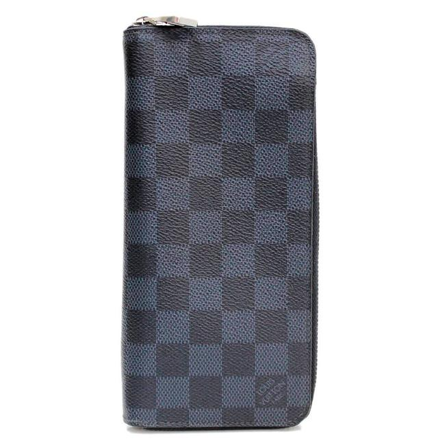 Louis Vuitton Damier Graphite Zippy Vertical N63095 Wallet Louis Vuitton Damier Graphite Zippy Vertical N63095 Wallet Image 1