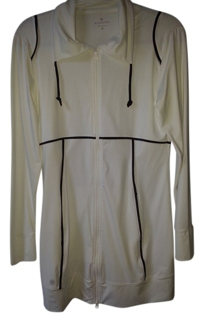 Item - White/Black Activewear Outerwear Size 8 (M, 29, 30)