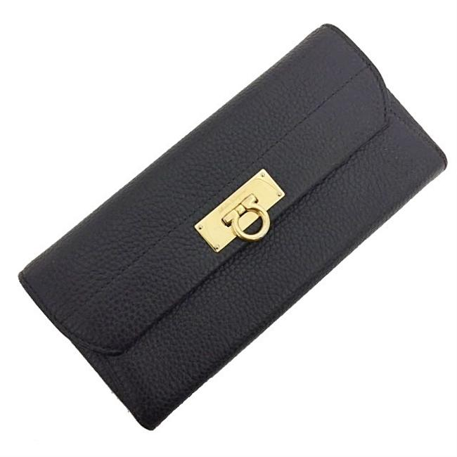 Item - Gray / White Bi-fold Gancini Jl-22 C225 Gold Hardware Leather Ladies Wallet