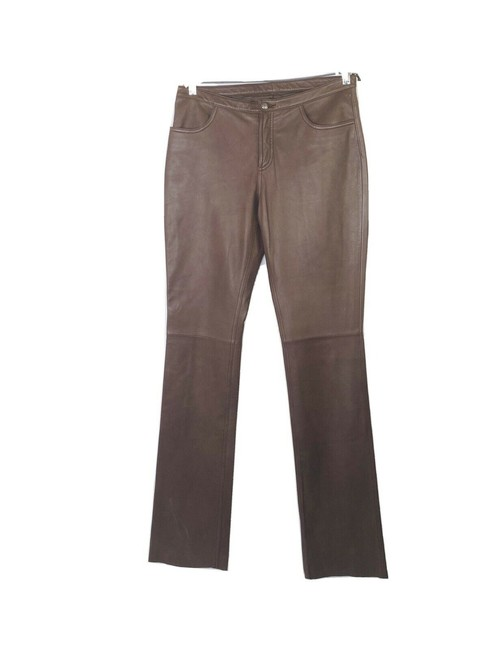 Item - Brown Vintage Equestrian Leather Riding Pants Size 8 (M, 29, 30)