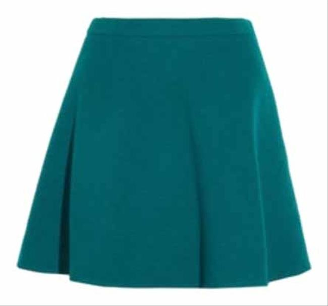 Item - Teal Wool Skirt Size 0 (XS, 25)