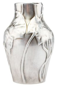 Tiffany & Co. Tiffany & Co. Sterling Silver Leaf Vase (39760)