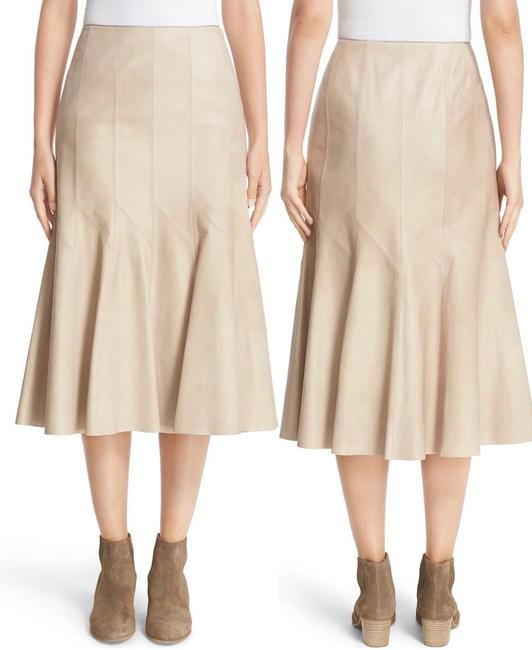 Item - Taupe Aria Skirt Size 4 (S, 27)