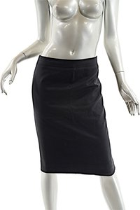 Christian Dior Slim Skirt Black