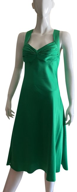 Item - Very Green Mid-length Cocktail Dress Size 6 (S)