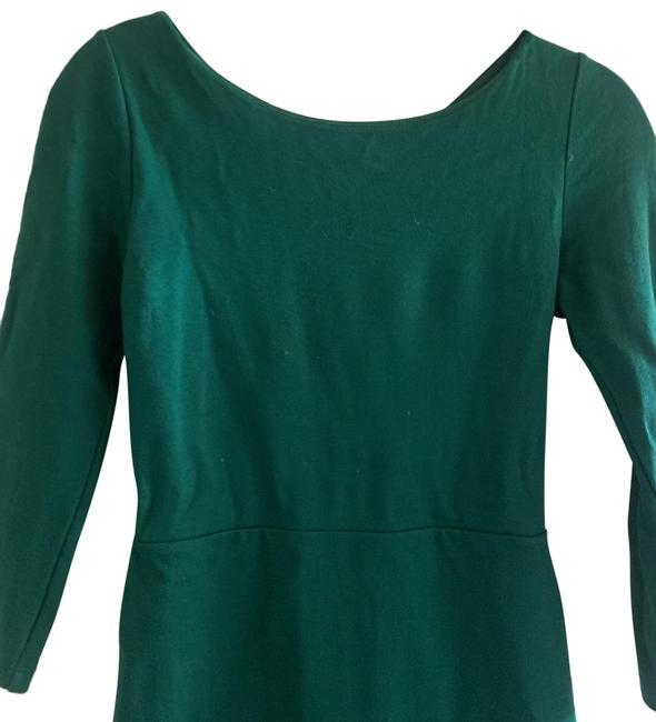 Item - Green Short Casual Dress Size 4 (S)