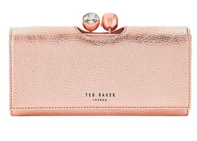 Item - Solange Twisted Crystal Bobble Martinee Purse Wallet