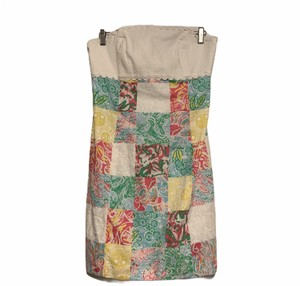 Lilly Pulitzer short dress White/Pink/Yellow/Blue/Green Floral Franco 76210 on Tradesy