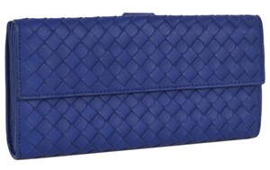 Bottega Veneta NEW Bottega Veneta Intrecciato Woven Leather Bifold Wallet