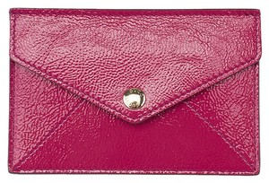 Gucci Gucci Soho Pink Patent Leather Card Holder (38874)
