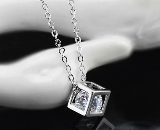 Preload https://item1.tradesy.com/images/silver-mother-s-day-bridesmaid-zircon-cube-cubic-zircon-bridesmaid-gift-necklace-2759065-0-0.jpg?width=440&height=440