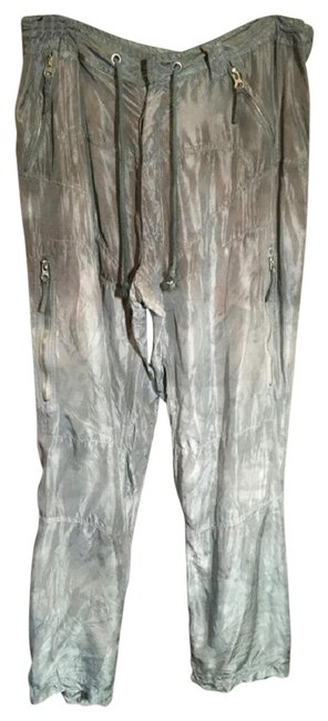 Item - Gray Washed Silk Pants Size 6 (S, 28)