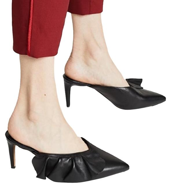 Item - Black Minkoff Giov Mules/Slides Size US 6 Regular (M, B)