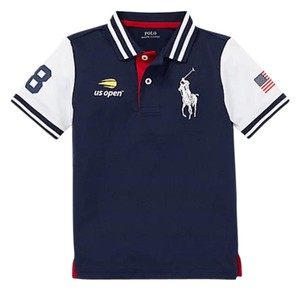 Polo Ralph Lauren T Shirt Blue, white