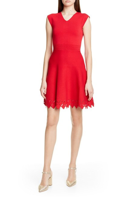 Item - Red London Tannia Skater Short Night Out Dress Size 10 (M)