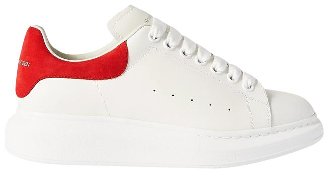 Item - White/Red Eu36/Us6 Oversized Sneakers Size EU 36 (Approx. US 6) Regular (M, B)