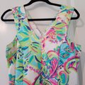 Lilly Pulitzer Multi Lover Colors A-line Tank Mid-length Short Casual Dress Size 8 (M) Lilly Pulitzer Multi Lover Colors A-line Tank Mid-length Short Casual Dress Size 8 (M) Image 3