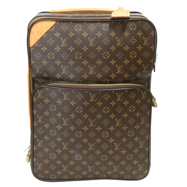 Item - Pégase Pegase'55 Business Suitcase Carry On Brown Monogram Weekend/Travel Bag
