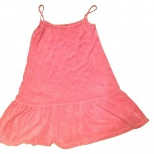 Juicy Couture short dress pink Towel Material on Tradesy