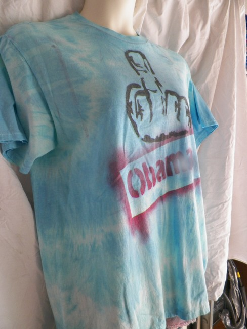 Other T Shirt blue white