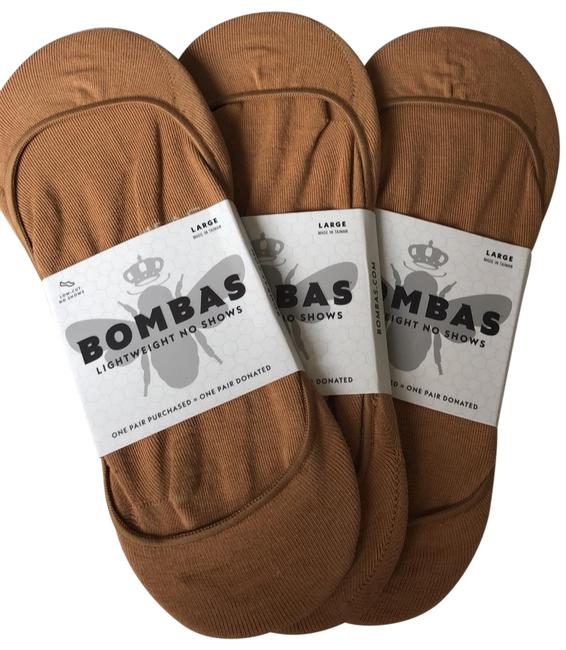 Item - Nude Large Women's Low-cut No Show Socks (3-pack)