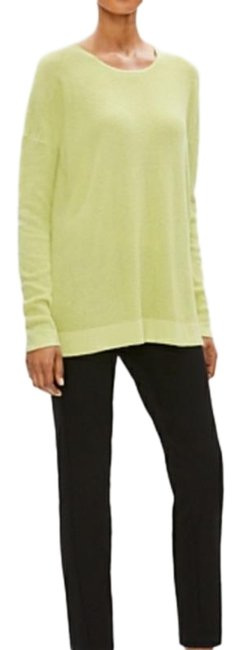 Item - Lime/Yellow Organic Cotton & Silk Tunic Size 12 (L)