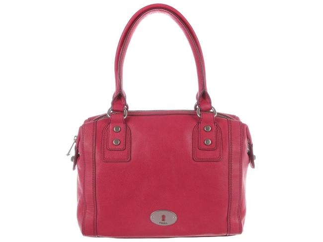 Item - Marlow Flamingo Pink Soft Red Leather Satchel