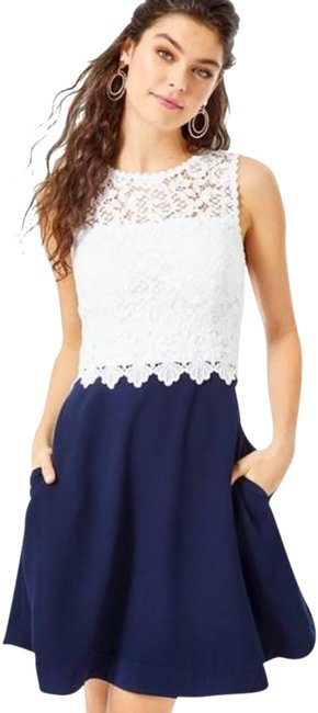 Item - True Navy Carolyn Mid-length Night Out Dress Size 6 (S)
