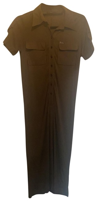 Item - Olive Green Fitted Mid-length Work/Office Dress Size 4 (S)