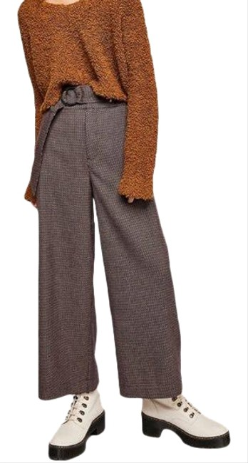 Item - Brown Tweed Soft Belted Pants Size 4 (S, 27)