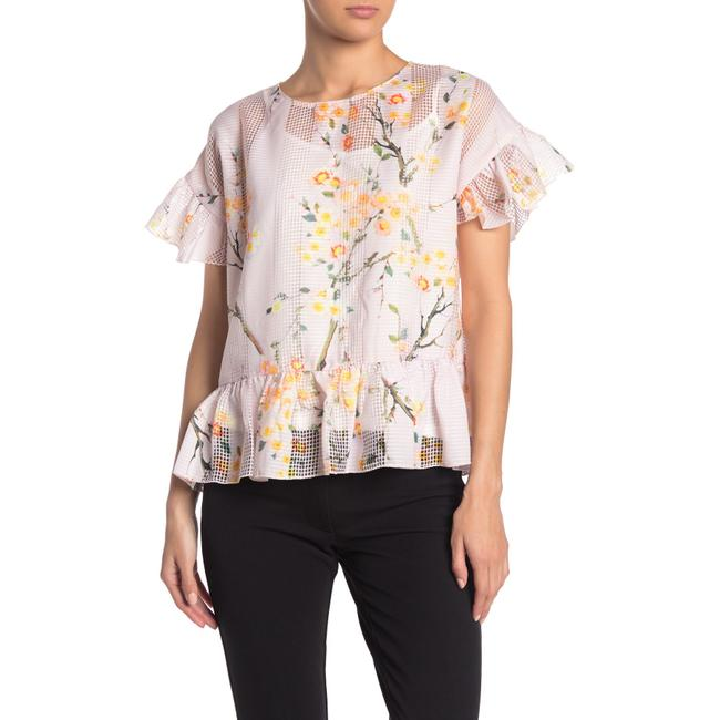 Item - Multicolor Floral Printed Woven Blouse Size 8 (M)