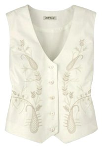ORVIS Embroidered Holiday Vest