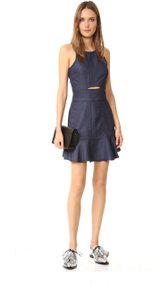 Ali & Jay short dress Blue on Tradesy