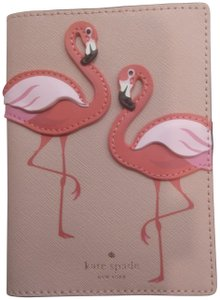 Kate Spade Kate Spade New Pink Flamingo Passport Holder